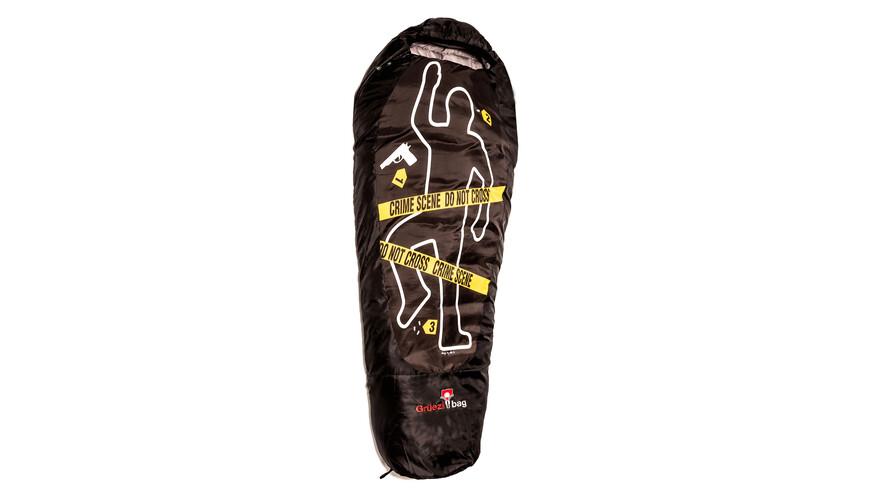 Grüezi-Bag CSI Slaapzak geel/zwart